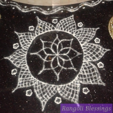 navratri-1 Rangoli Blessings